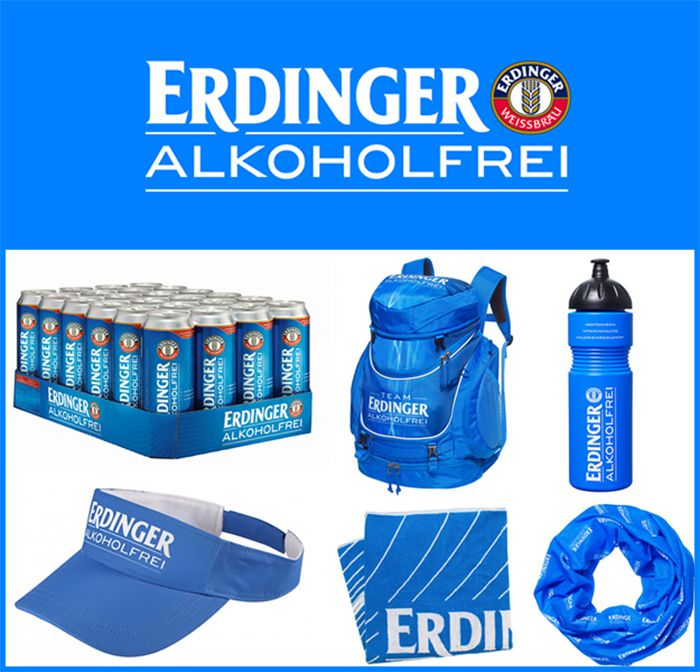 Erdinger Alkoholfrei Athlete of the Month prizes