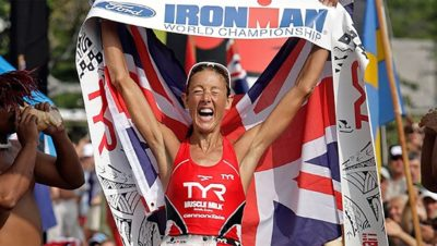 Chrissie Wellington Ironman world champion