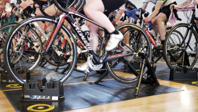 Mass turbo trainer session