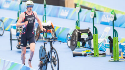 George Peasgood at the 2016 Rio Paralympic Games (David Pearce / British Triathlon) - live coverage