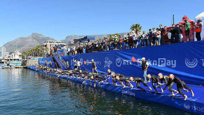 Image from the 2016 ITU World Triathlon Series Cape Town - Delly Carr/triathlon.org (WEEKEND PREVIEW)