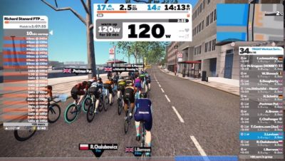 Richard Stannard FTP Advancer Zwift Custom Workout