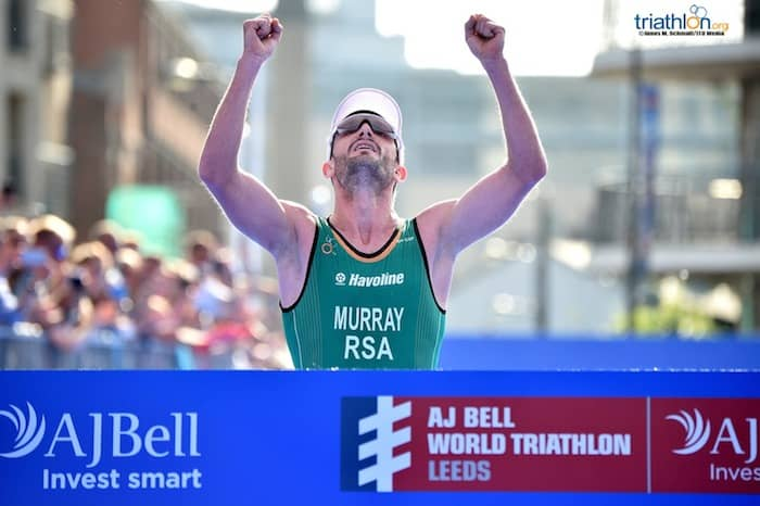 Richard Murray - AJ Bell World Triathlon Leeds 2018