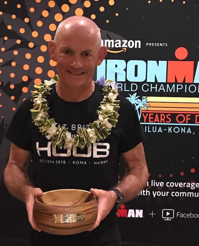 Martin Gannon (4th M60-64) - IRONMAN World Championship