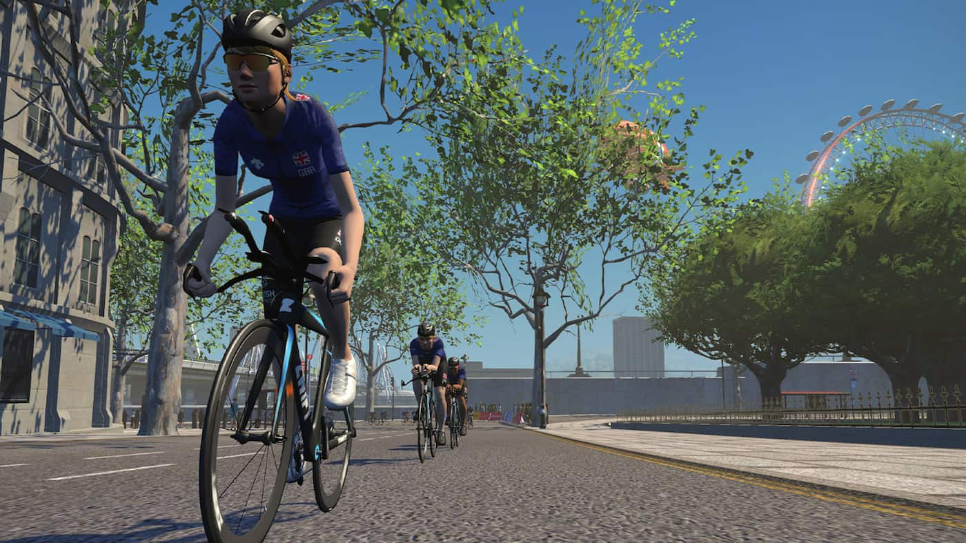British Triathlon and Zwift