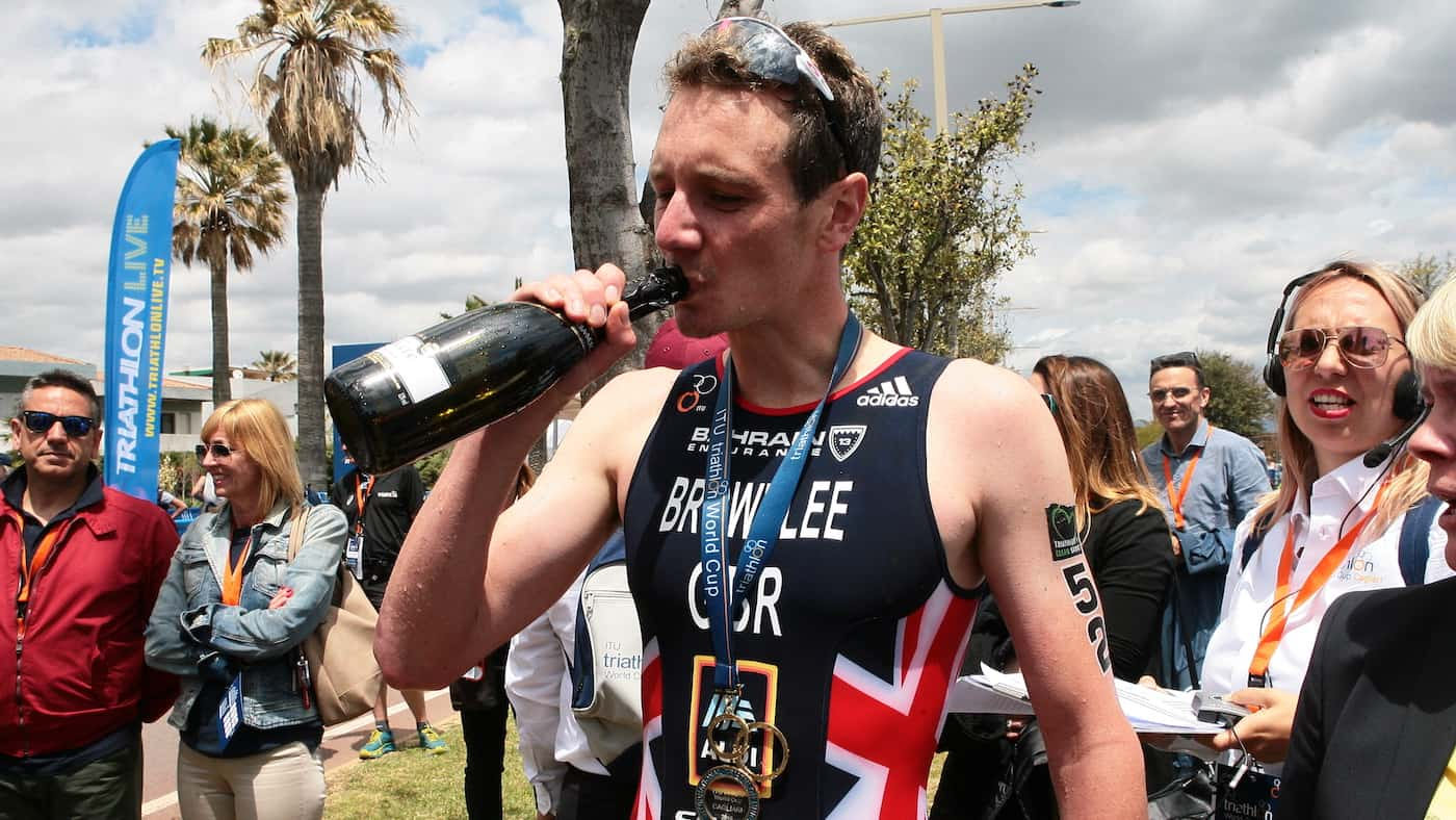 Alistair Brownlee - Cgaliari ITU Triathlon World Cup / Weekend Roundup