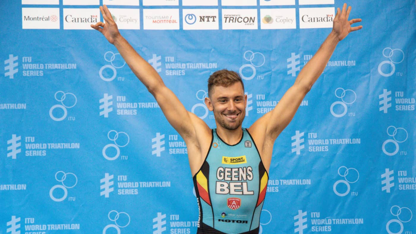 Jelle Geens / ITU World Triathlon Montreal