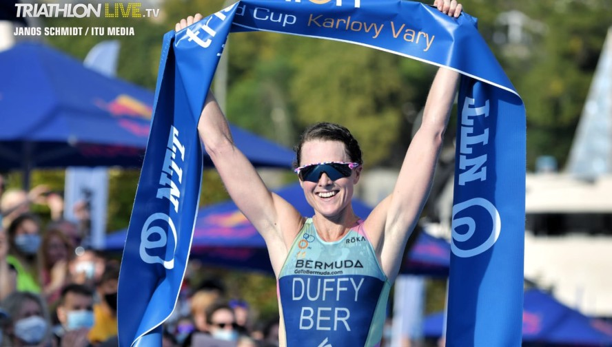 Flora Duffy / Karlovy Vary ITU Triathlon World Cup 2020