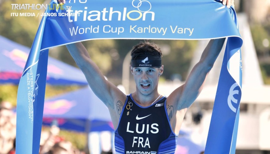 Vincent Luis / Karlovy Vary ITU Triathlon World Cup 2020