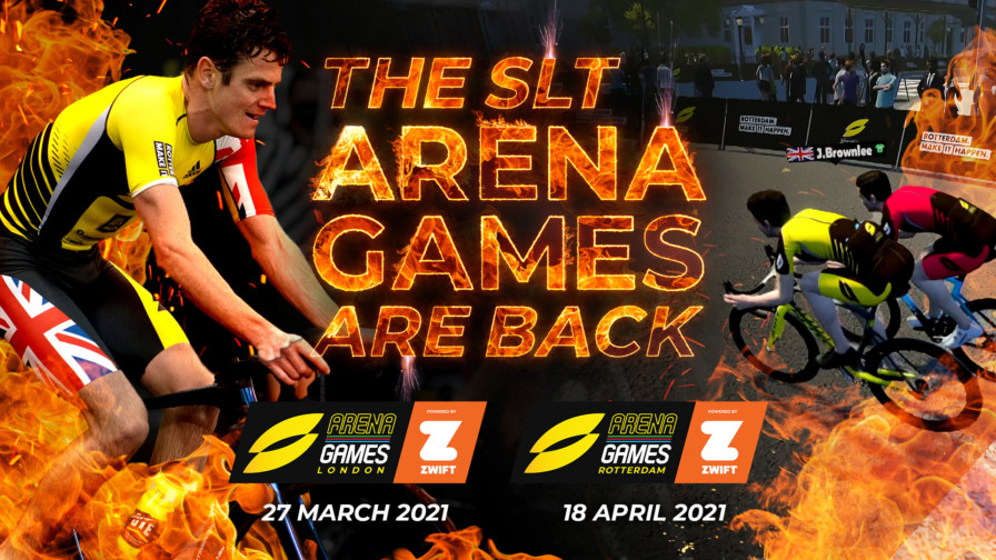 SLT Arena Games 2021 - London & Rotterdam
